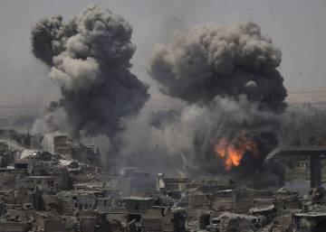La última trinchera yihadista en Mosul