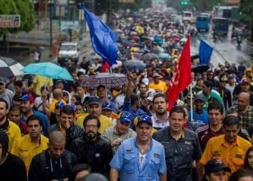 La oposición venezolana recobra el impulso con la protesta en la calle