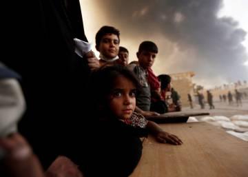 La historia tras las imágenes de la ofensiva en Mosul