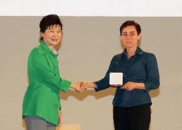 Por primera vez en la historia, una mujer gana la medalla Fields de Matemáticas