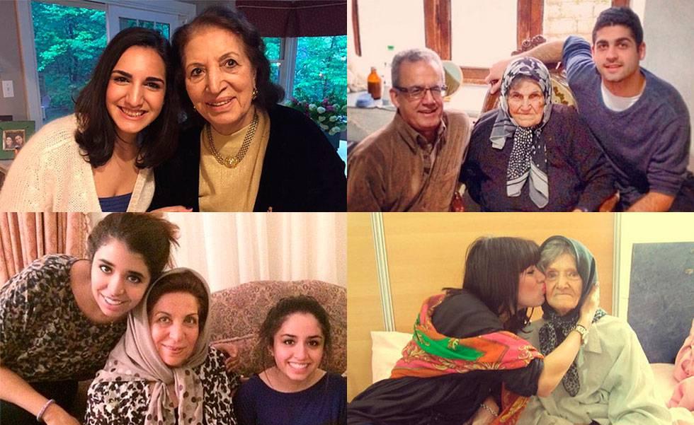 Algunas de las abuelas de 'bannedgranmas'.