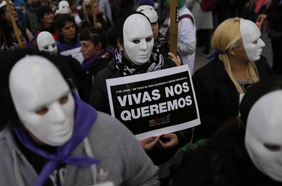 Movilización contra la violencia machista en Buenos Aires, el pasado 3 de junio.
