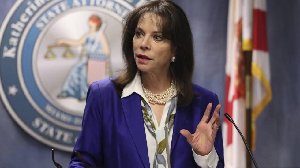 La fiscal Katherine Fernandez Rundle en rueda de prensa