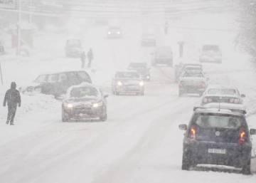 La madrugada más fría de Bariloche: 25,4 grados bajo cero