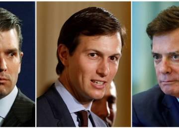 El hijo y el yerno de Trump, llamados a testificar en el Senado por la trama rusa