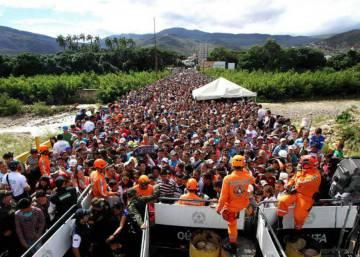 """""""Es imposible parar la migración de venezolanos hacia Colombia"""""""