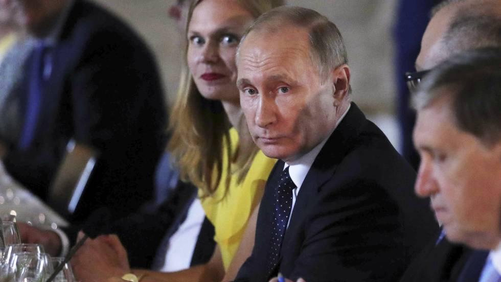 El presidente ruso, Vladímir Putin, este jueves durante su viaje a Finlandia.