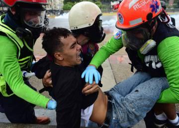 Día de caos en Caracas