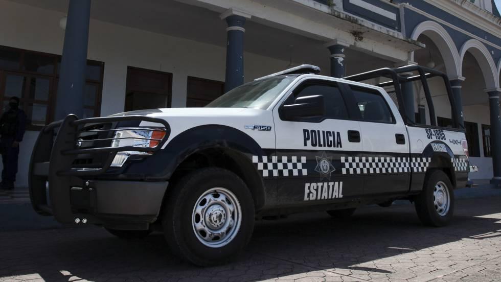 Una patrulla de la policía estatal de Veracruz.