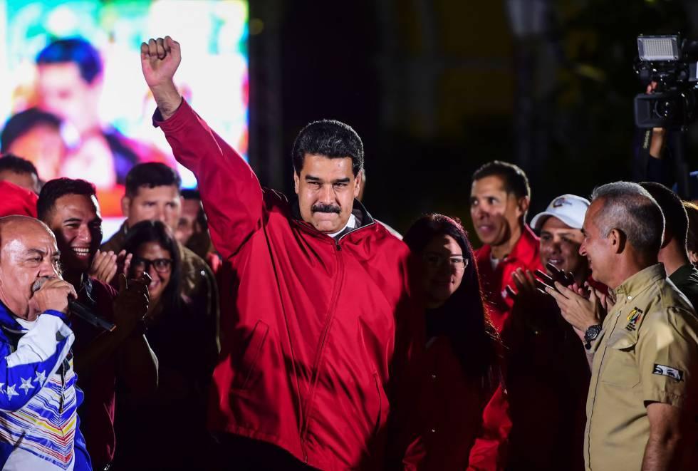 Nicolás Maduro, el domingo en Caracas