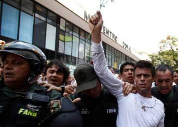 Los opositores venezolanos Leopoldo López y Antonio Ledezma vuelven a ser encarcelados
