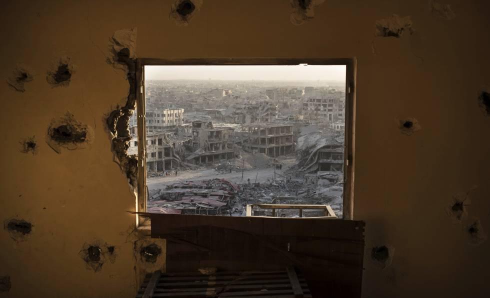 Vista de Mosul tras la toma de la ciudad, el pasado 11 de julio.