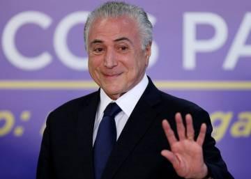 El Congreso de Brasil debate si aparta a Temer por seis meses
