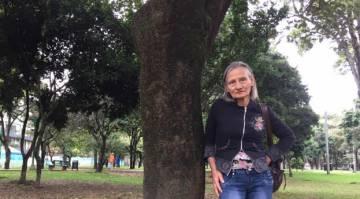 Leonilde Figueroa, de 62 años, salió de Venezuela hacia Bogotá en los días previos a la Constituyente.