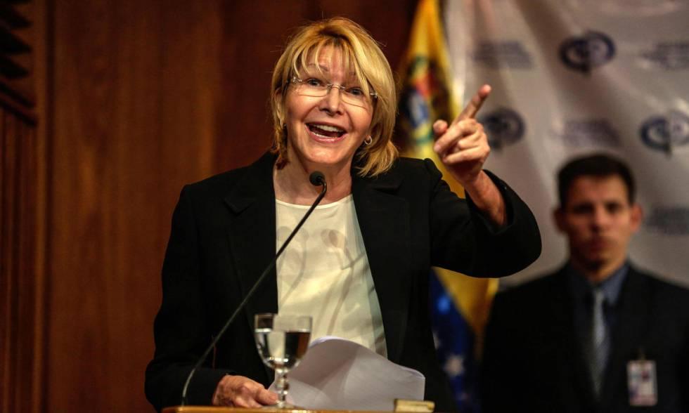 La fiscal general de Venezuela, Luisa Ortega, el 31 de julio en Caracas.