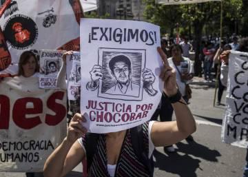 Indígenas argentinos piden en el 12 de octubre justicia por un asesinato impune