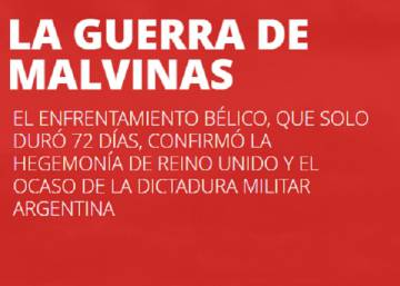 Malvinas, el estertor de la dictadura argentina