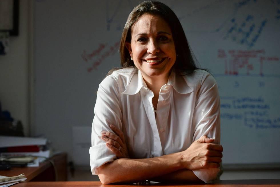 La opositora venezolana Maria Corina Machado.