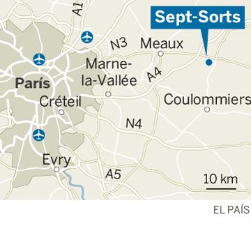 Localización de Sept-Sorts, Francia