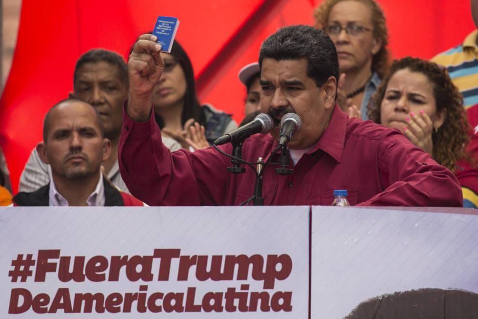 Maduro responde a Trump con unas maniobras militares
