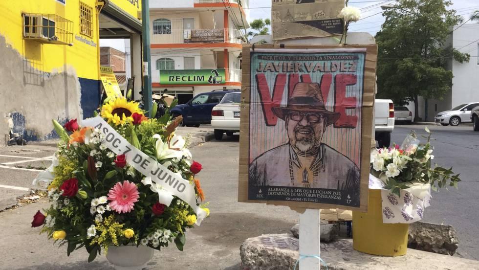 Homenaje a Javier Valdez en Culiacán, a tres meses de su asesinato.