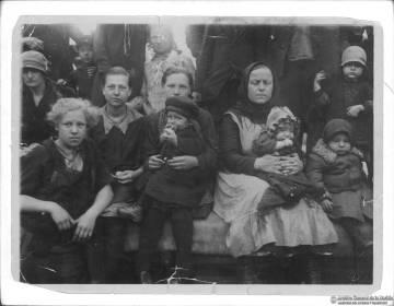 Inmigrantes holandeses menonitas, en 1930.
