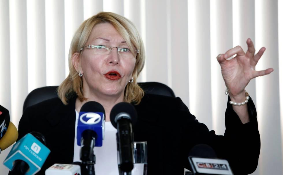 Luisa Ortega Díaz, este lunes en San José.