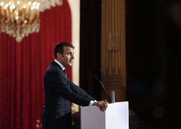 "Macron se propone ""refundar"" un orden global ""estable y justo"""