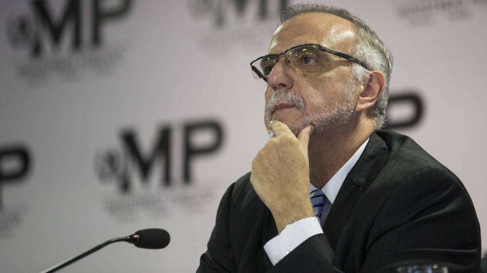 Ivan Velásquez durante una conferencia de prensa del pasado 25 de agosto.