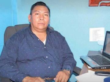 Santos Roldán, secretario del alcalde de Mazatepec.
