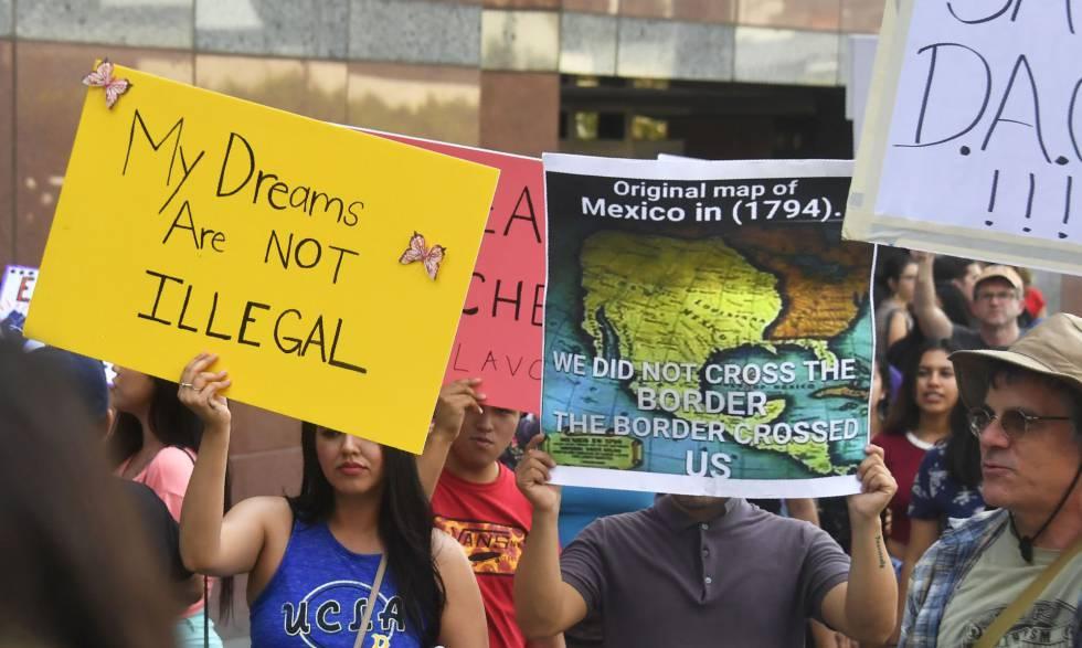Las grandes compañías exhortan a Trump a mantener la protección a los 'dreamers'