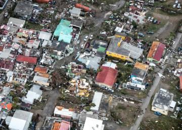 Las imágenes del poderoso huracán Irma