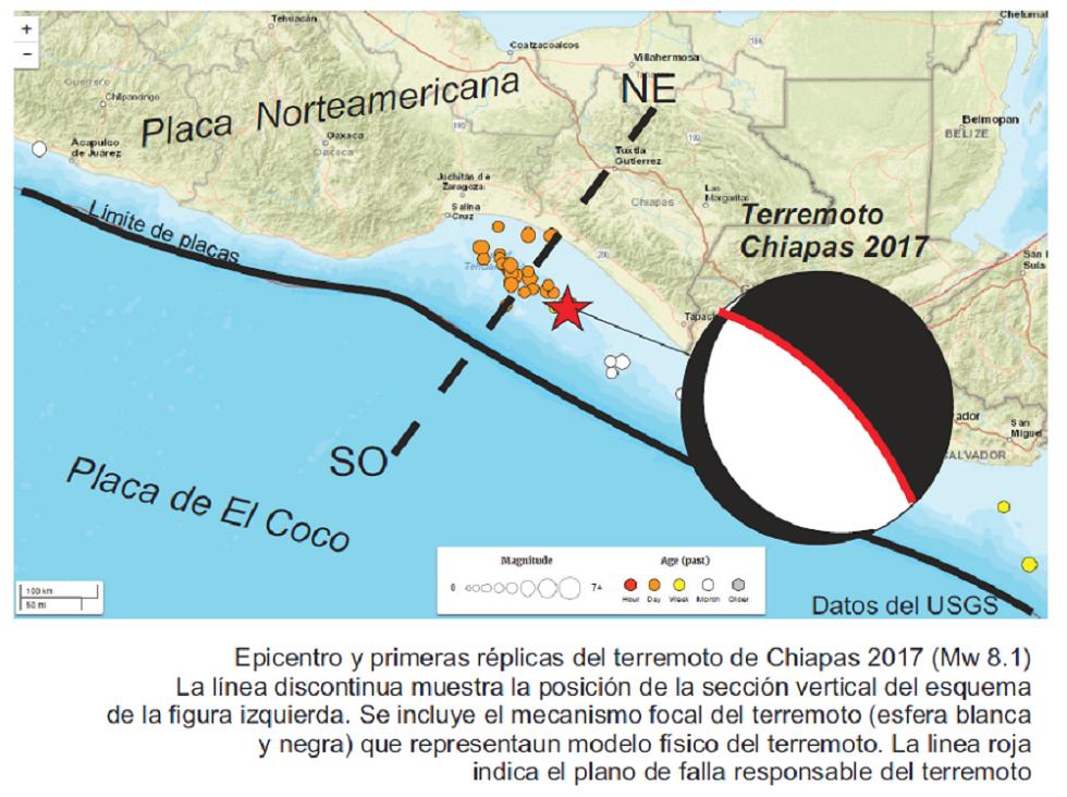 Terremoto México Chiapas