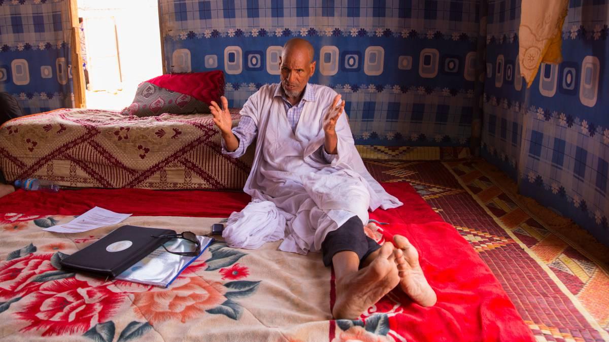 """""""Mauritania hace campañas de sensibilización cada vez que llegan refugiados"""""""