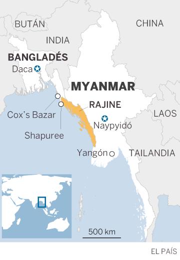 La ONU pide 360 millones para los refugiados rohingya en Bangladés