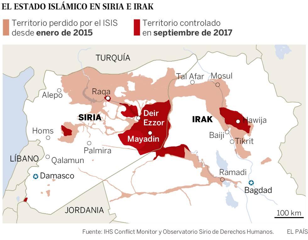 El ISIS pierde dos tercios de califato en Siria en cuatro meses de derrotas
