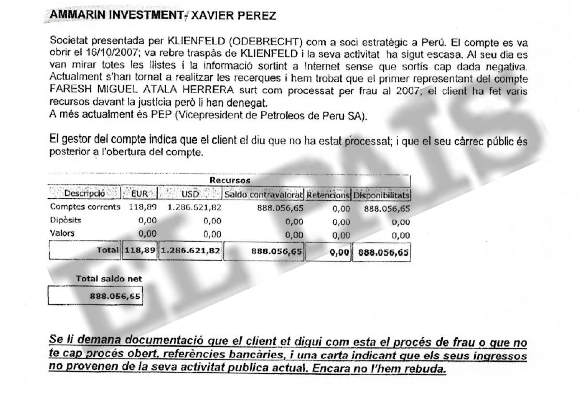Odebrecht habría pagado US$ 900 mil a exdirectivo de Petroperú