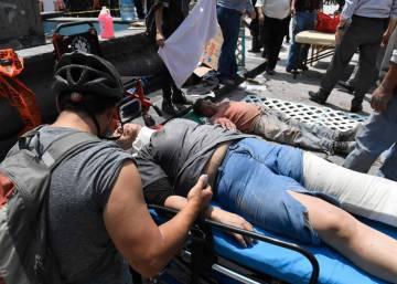Los efectos del terremoto de México, en imágenes