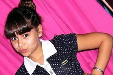 La pequeña Candela Rodríguez.
