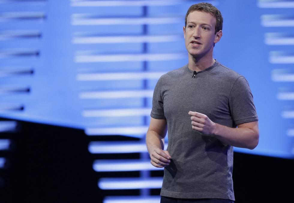 Mark Zuckerberg durante la pasada conferencia F8.