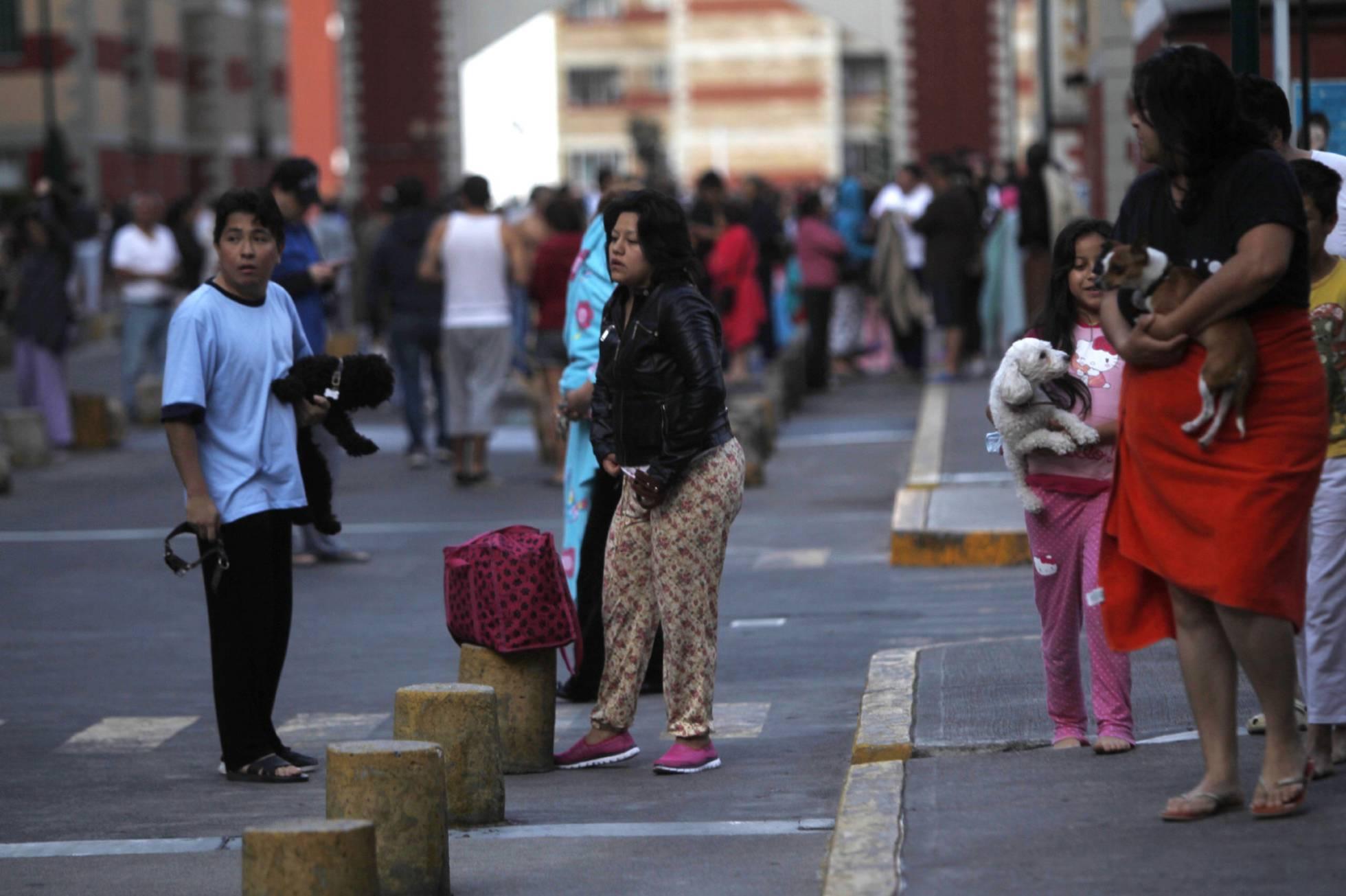 Un nuevo temblor magnitud 6,1 sacude el centro y sur de México