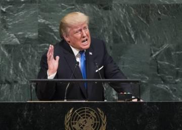 """Trump amenaza en la ONU a Corea del Norte con su """"destrucción total"""""""