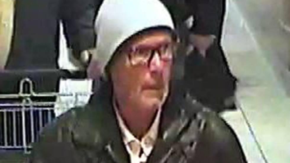 Captura del vídeo en el que se puede ver al sospechoso.
