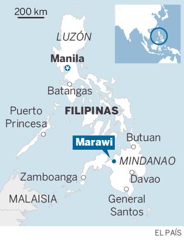 El Estado Islámico anida en el sur de Filipinas