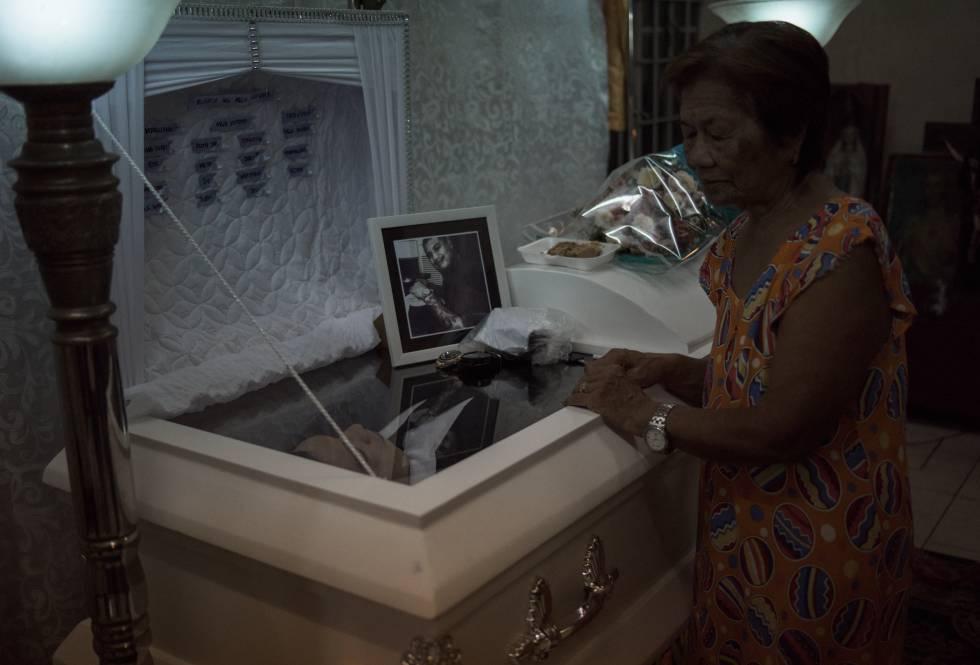 Velatorio de Jeda Manuel Cazcarro, el conductor del triciclo asesinado