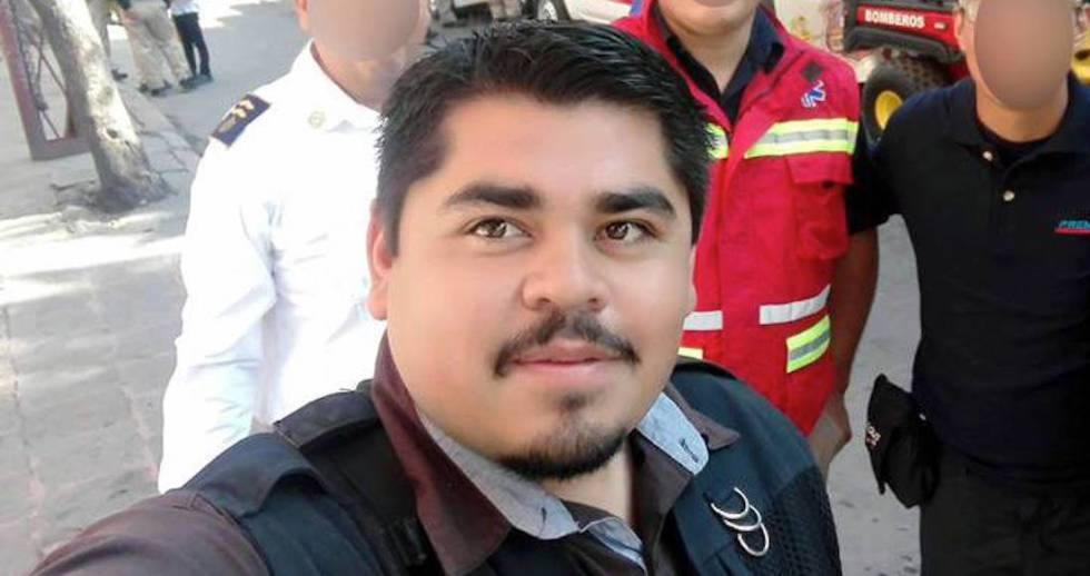 El fotoperiodista Edgar Esqueda en una imagen de archivo.