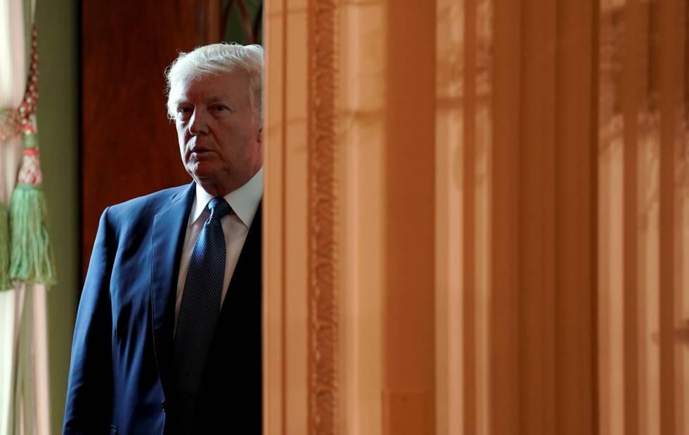 Trump este viernes en Washington.