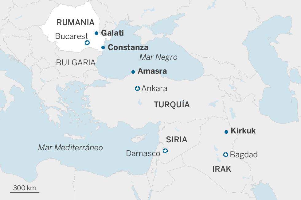Rumbo a Europa a través de las peligrosas aguas del Mar Negro