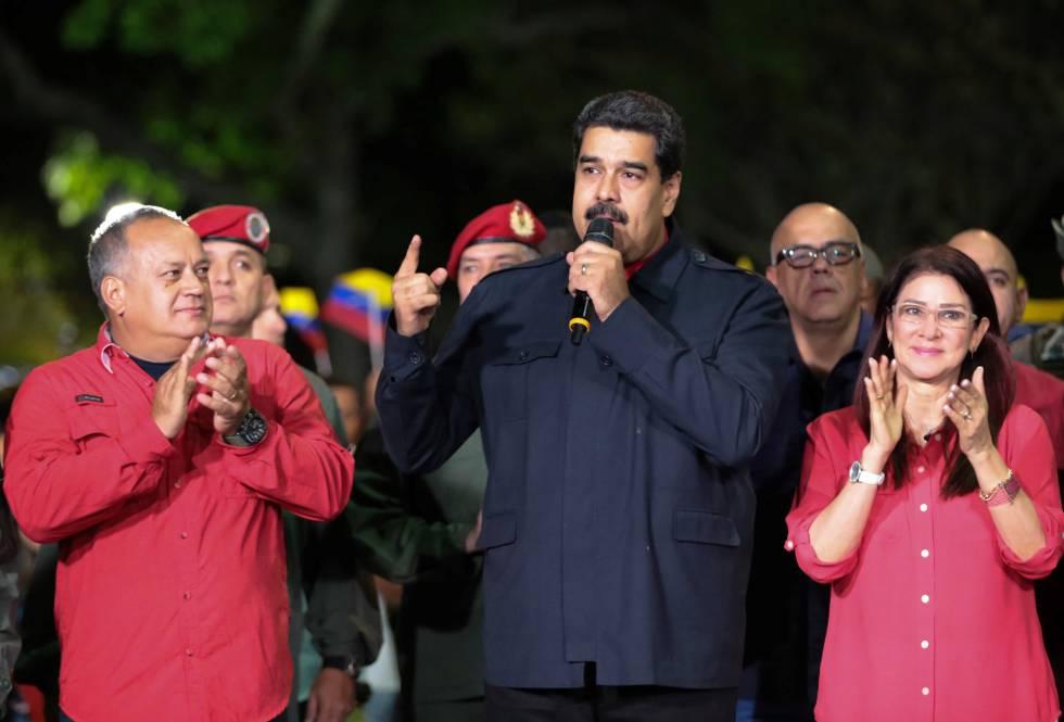 Nicolás Maduro anuncia el domingo por la noche los resultados de las elecciones regionales.