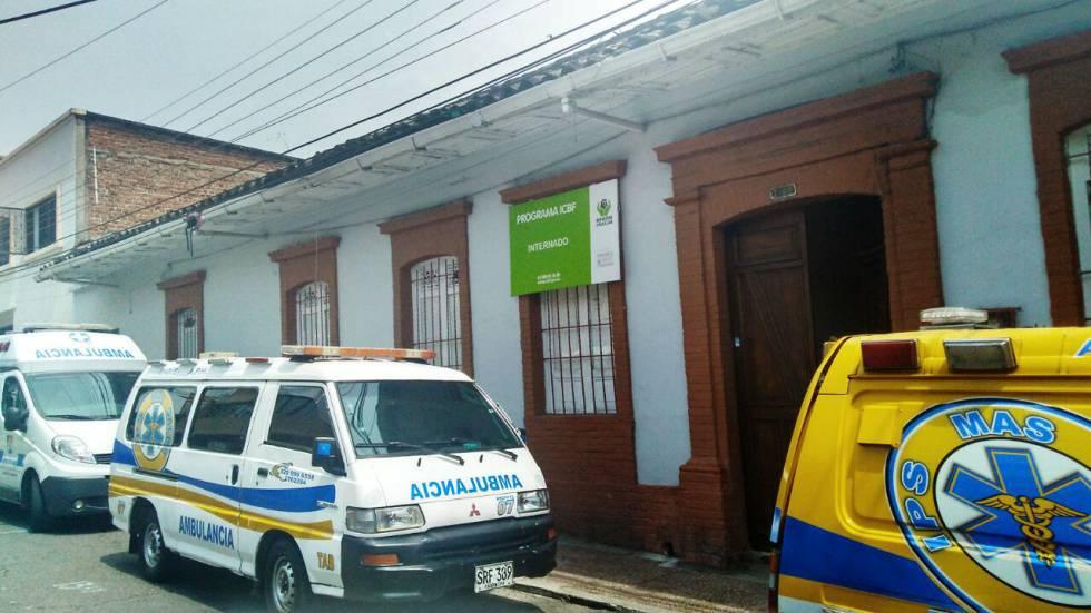 La sede del hogar infantil en Ibagué.